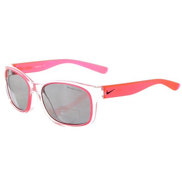 Очки Nike Optics Spirit Clear Hyper Punch Grey W/Silver Flash Lens