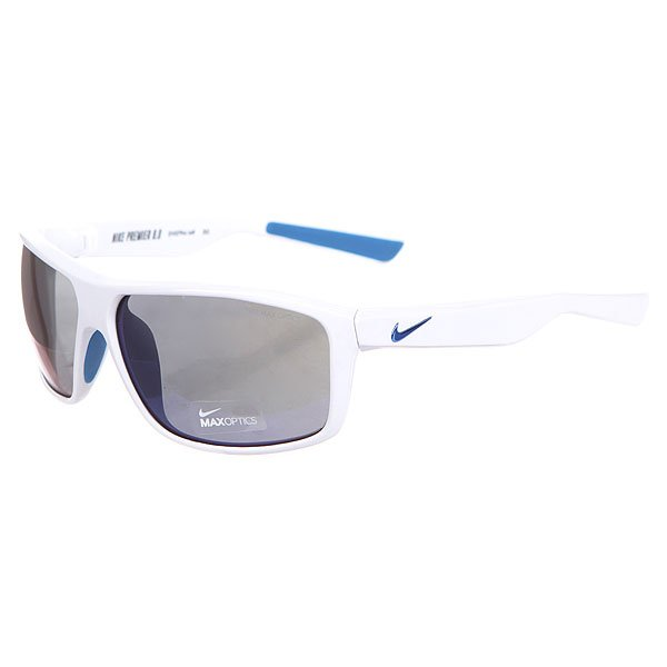 Очки женские Nike Optics Premier 8.0 White/Military Blue Grey W/Flash Blue Night Lens