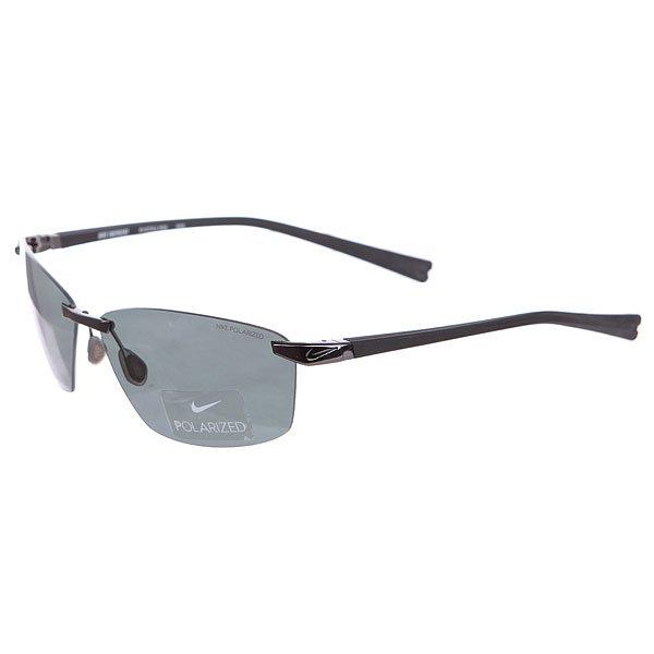 Очки Nike Optics Emergent Gunmetal/Black/Grey Max Polarized LensБескаркасные очки с двойными линзами на каждый день.Технические характеристики: 100% защиты от УФ-лучей (UVA, UVB и UVC).Поляризованные линзы Nike Polarized для четкого и ясного изображения.Легкая оправа для большего комфорта и долговечности.Футляр в комплекте.<br><br>Цвет: черный<br>Тип: Очки<br>Возраст: Взрослый<br>Пол: Мужской