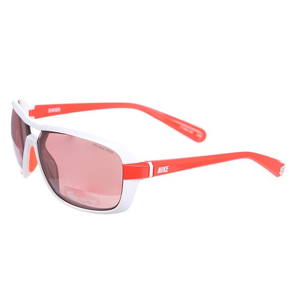 Очки Nike Optics Racer E max Speed Tint Lens White/Total Crimson