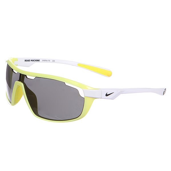 Очки Nike Optics Road Machine Grey Lens Electric Yellow/White