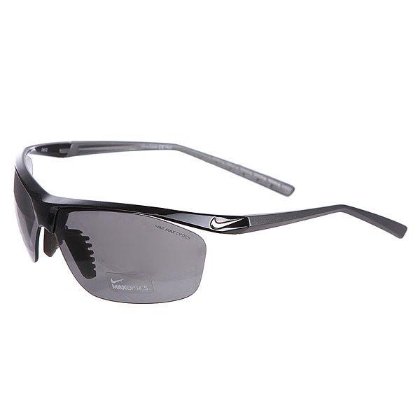 Очки Nike Optics Impel Grey Lens BlackУдобные, стильные, современные очки в легкой оправе, которые незаменимы как для спортсменов, так и отлично подойдут для отдыха.Технические характеристики: Линзы Nike Max Optics для четкого изображения с любого ракурса.100% защиты от УФ-лучей (UVA, UVB и UVC).Вентилируемый мост улучшает комфорт и уменьшает запотевание.Легкий нейлоновый каркас для большего комфорта и долговечности.Петли Cam-action.Футляр в комплекте.<br><br>Цвет: черный<br>Тип: Очки<br>Возраст: Взрослый<br>Пол: Мужской