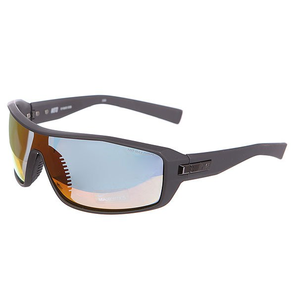 Очки Nike Optics Moto Grey W/ Orange Flash Lens/Matte Night Stadium