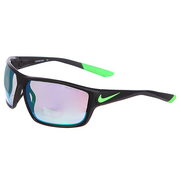 Очки Nike Optics Ignition R Matte Black/Poison Green/Grey W/Ml Green Flash Lens