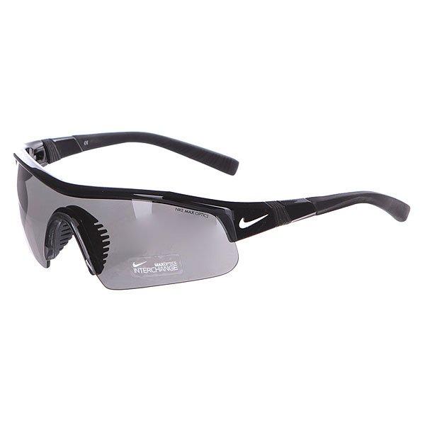 Очки Nike Optics Show Pro Grey/Orange Blaze LensОчки гарантируют Вам надежное сцепление, стабильность и комфорт. Идеально подходят для тренировок, гольфа, тенниса и велосипедных прогулок.Технические характеристики: Вентилируемая резиновая переносица улучшает комфорт и уменьшает запотевание.Объемные линзы для максимального охвата.100% защиты от УФ-лучей (UVA, UVB и UVC).Линзы Nike Max Optics для четкого изображения с любого ракурса.Легкий нейлоновый каркас для большего комфорта и долговечности.Петли Cam-action.Регулируемые окончания заушников, также обеспечивают устойчивость оправы.Сменная линза и футляр в комплекте.<br><br>Цвет: черный<br>Тип: Очки<br>Возраст: Взрослый<br>Пол: Мужской