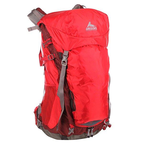 Рюкзак туристический Gregory Nw Savant Cinder Cone Red<br><br>Цвет: бордовый<br>Тип: Рюкзак туристический<br>Возраст: Взрослый<br>Пол: Мужской