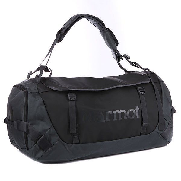 Сумка Marmot Long Hauler Duffle Bag Large Black/Slate Grey