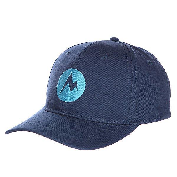 Бейсболка Marmot Mdot Twill Cap Vintage Navy