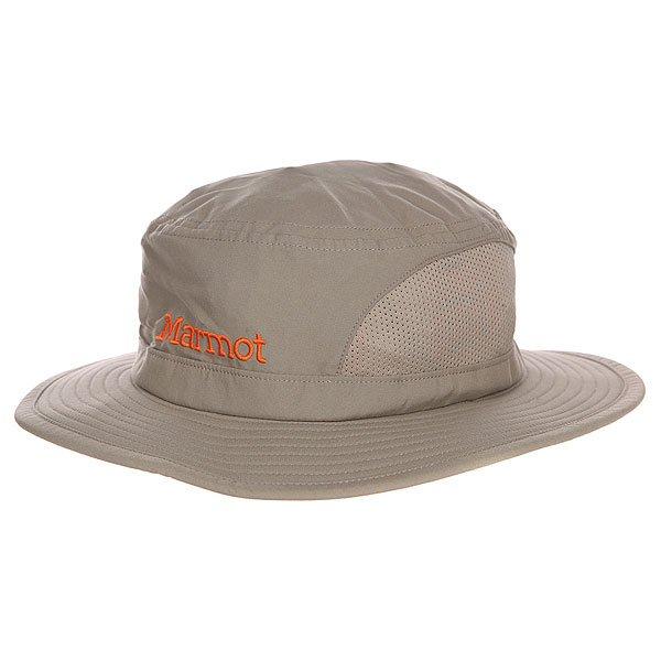 Панама Marmot Simpson Mesh Sun Hat Desert Khaki<br><br>Цвет: серый<br>Тип: Панама<br>Возраст: Взрослый<br>Пол: Мужской