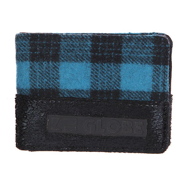 Кошелек Globe Nelson Wallet Dresden Blue<br><br>Цвет: черный,синий<br>Тип: Кошелек<br>Возраст: Взрослый