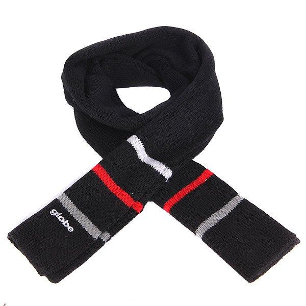 Шарф Globe Tristripe Scarf BlackМягкий вязаный шарф из шерсти и акрила в классическом дизайне.Технические характеристики: Классический вязаный шарф.Мягкая и теплая пряжа.Однотонный дизайн с контрастными полосками.Вышитый логотип Globe.<br><br>Цвет: черный<br>Тип: Шарф<br>Возраст: Взрослый<br>Пол: Мужской