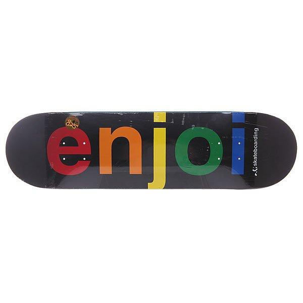 6b43c11fcd5f44 Дека для скейтборда для скейтборда Enjoi Spectrum Black 31.7 x 8.25 (21 см)