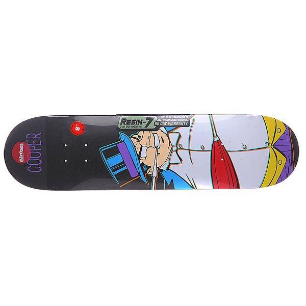 Дека для скейтборда для скейтборда Almost Cooper Villain Penguin Multicolor 31.7 x 8 (20.3 см) стоимость