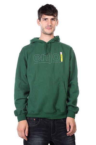 Кенгуру Enjoi Pencil Dark Green<br><br>Цвет: зеленый<br>Тип: Толстовка кенгуру<br>Возраст: Взрослый<br>Пол: Мужской