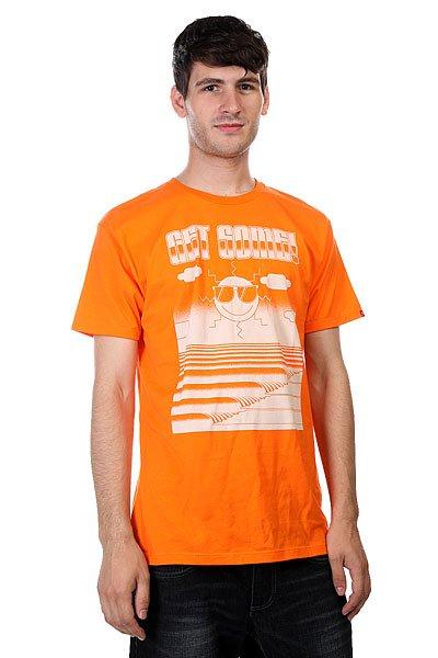 Футболка Lost Get Some Orange<br><br>Цвет: оранжевый<br>Тип: Футболка<br>Возраст: Взрослый<br>Пол: Мужской