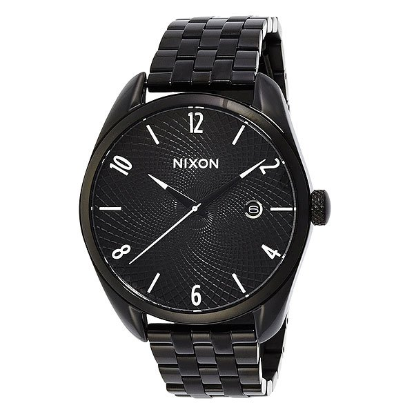Часы женские Nixon Bullet All Black часы nixon re run leather all black