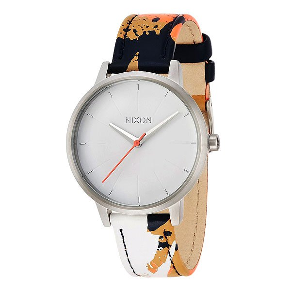 Часы женские Nixon Kensington Leather White/Multi часы женские nixon kensington all white gold o s