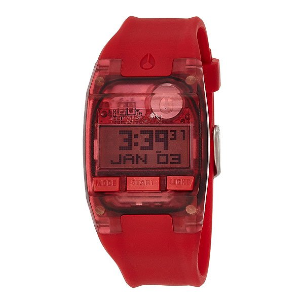 Часы Nixon Comp S All Red nixon comp s