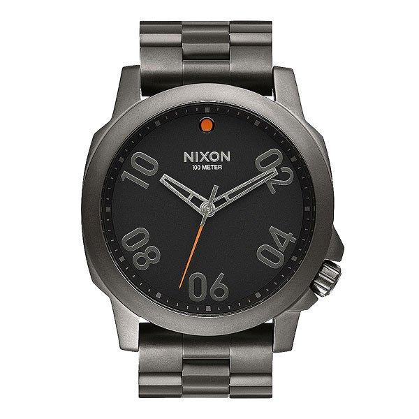 ���� Nixon Ranger 45 Ss Gunmetal/Black