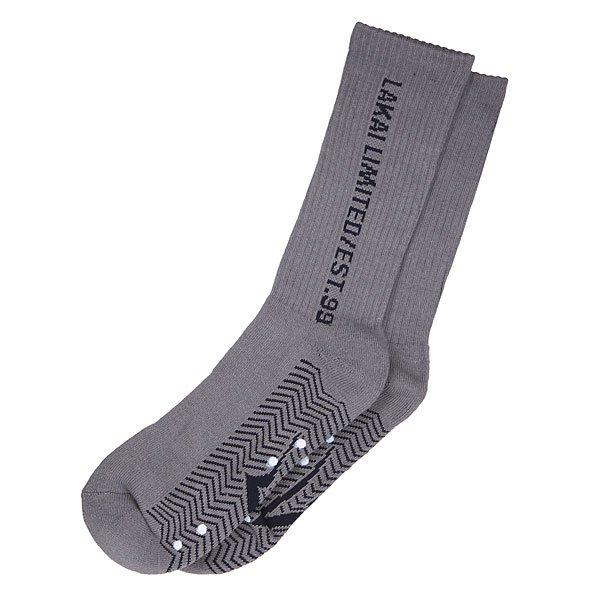 Носки высокие Lakai Sws Tall Grey<br><br>Цвет: серый<br>Тип: Носки средние<br>Возраст: Взрослый<br>Пол: Мужской
