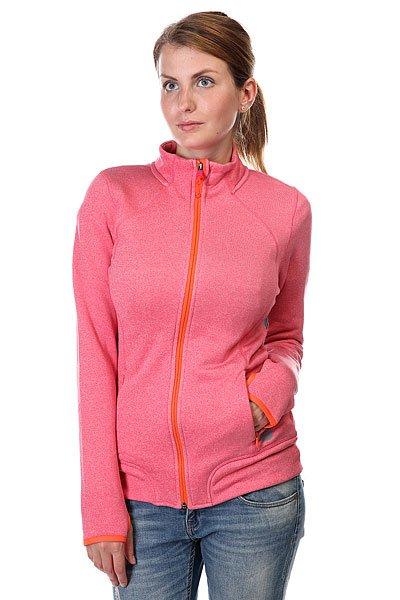 Толстовка сноубордическая женская Roxy Iced Out Jacket Azalea Heather<br><br>Цвет: розовый<br>Тип: Толстовка сноубордическая<br>Возраст: Взрослый<br>Пол: Женский