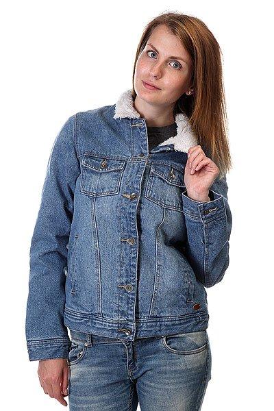 Куртка джинсовая женская Roxy Sandy J Jckt Vintage Med Blue