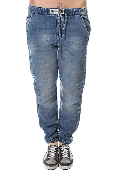 Штаны женские Roxy Fonzy J Vintage Med BlueЭти спортивные штаны - отличный вариант для тренировок!    Средняя плотность ткани: 312 г/кв. м.  Винтажный не темный и не светлый синий цвет.  Кожаная нашивка ROXY на заднем кармане,&amp;nbsp;на крученой двухцветной утяжке.<br><br>Цвет: синий<br>Тип: Штаны широкие<br>Возраст: Взрослый<br>Пол: Женский