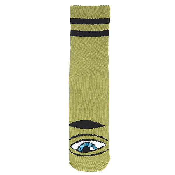 Носки высокие Toy Machine Sect Eye Sock Iii Sock Army