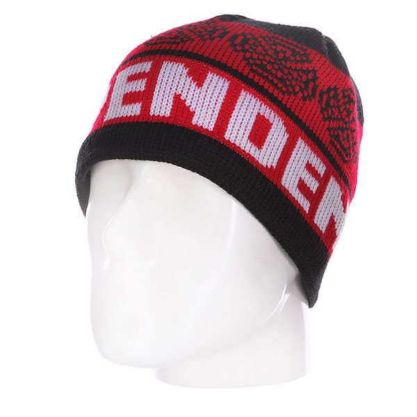 ����� Independent Woven Crosses Black/Red