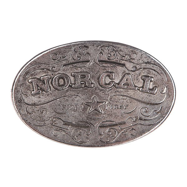 Пряжка Nor Cal Plaque Silver