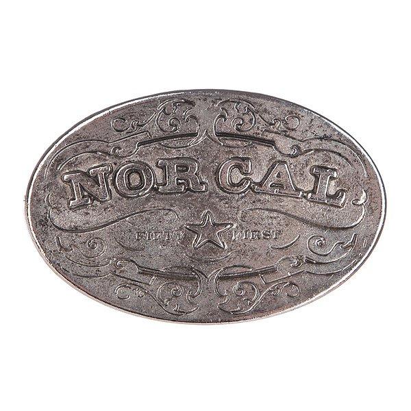 Пряжка Nor Cal Plaque Silver<br><br>Цвет: серый<br>Тип: Пряжка<br>Возраст: Взрослый<br>Пол: Мужской