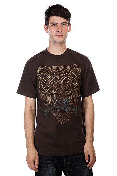 Футболка Nor Cal Pinstripe Dark Chocolate футболка nor cal safe harbor turquoise