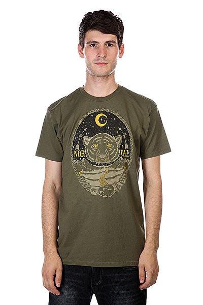 Футболка Nor Cal Folklore Military Green<br><br>Цвет: зеленый<br>Тип: Футболка<br>Возраст: Взрослый<br>Пол: Мужской