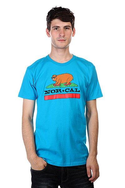 Футболка Nor Cal Skate Republic Turquoise<br><br>Цвет: голубой<br>Тип: Футболка<br>Возраст: Взрослый<br>Пол: Мужской