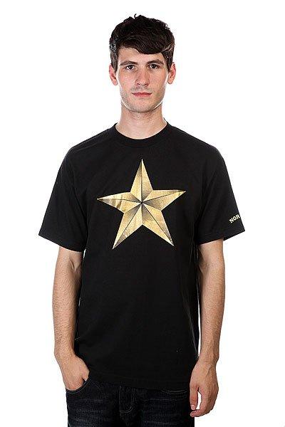 Футболка Nor Cal True Star Black<br><br>Цвет: черный<br>Тип: Футболка<br>Возраст: Взрослый<br>Пол: Мужской