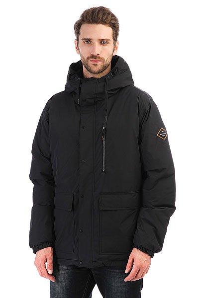 Куртка зимняя двусторонняя Quiksilver Role Jacket BlackНовая технологичная куртка: отличная мембрана 10K (10000 мм), которая защитит от проникновения воды. Модель выполнена с применением &amp;nbsp;технологии Dry Flight, благодаря которой ткань не пропускает воду внутрь и отлично дышит. Вентиляционные отверстия на молниях позволяют регулировать температуру. Остальные преимущества:   Снегозащитная юбка.  Меланжевое покрытие.  Специальный карман для маски.  Возможность регулировки низа куртки специальным шнуром.  Vent -удобные вентиляционные отверстия на молниях в области подмышек.  Высокотехнологичный утеплитель - 300-граммовый утеплитель 3M&amp;trade; Thinsulate&amp;trade; Featherless&amp;trade;.<br><br>Цвет: черный<br>Тип: Куртка зимняя<br>Возраст: Взрослый<br>Пол: Мужской