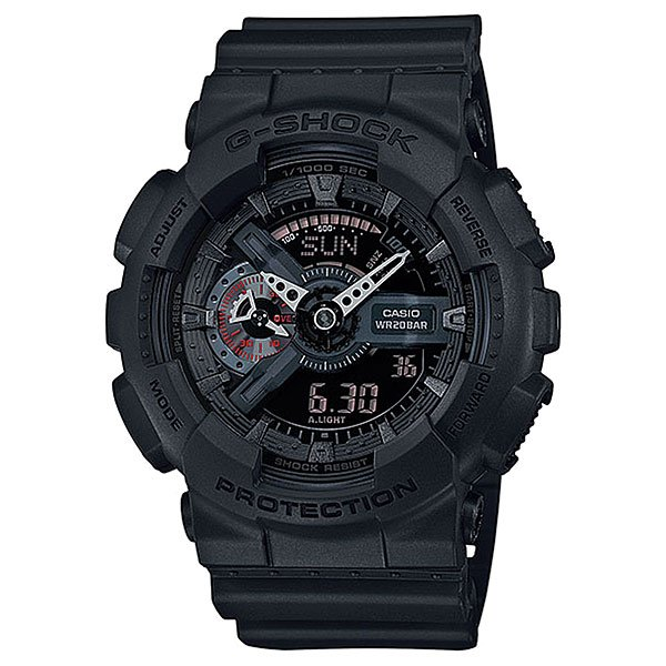 Часы Casio G-Shock Ga-110mb-1a Black часы casio g shock ga 110mb 1a black