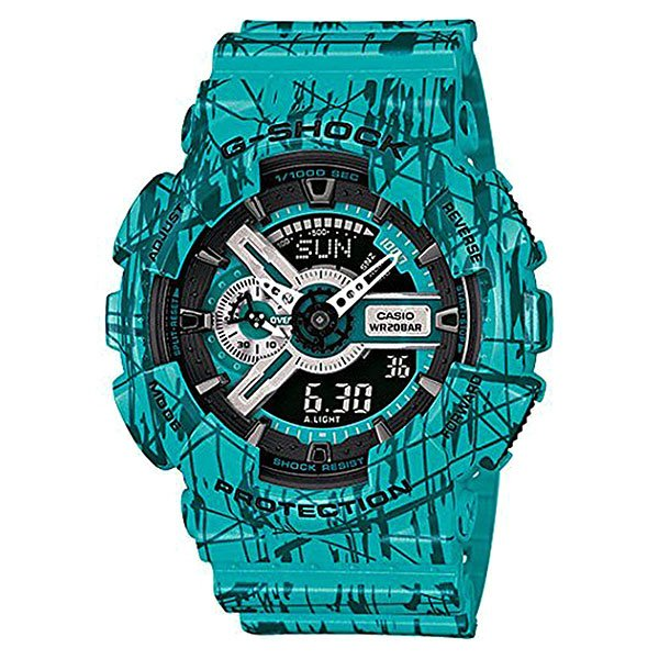 Часы Casio G-Shock Ga-110sl-3a Blue