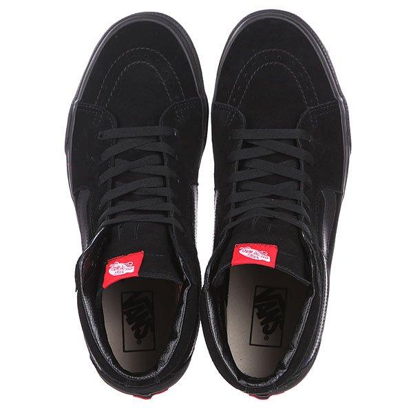 Кеды кроссовки высокие Vans Sk8 Hi Black