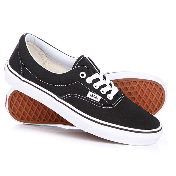 Кеды кроссовки низкие Vans Era Black uland 6pcs 50cm 50cm artificial photinia hedge bicolor boxwood mat g0602a016 st3