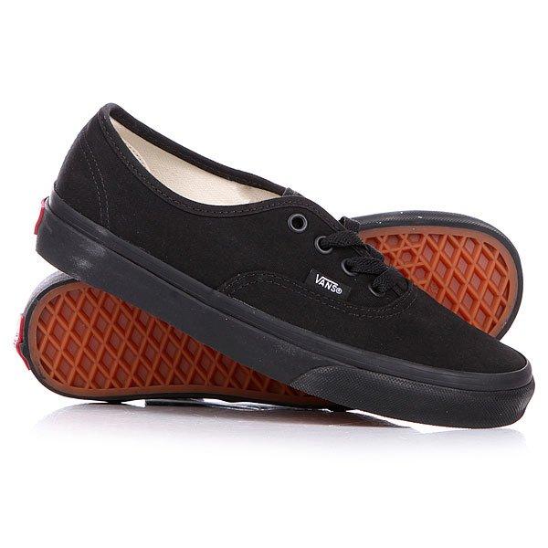 Кеды кроссовки низкие Vans Authentic True Black