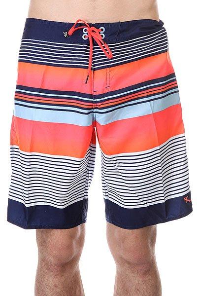 Шорты пляжные Lost Fishbone IndДанная модель не имеет внутренней подкладки в виде сеточки<br><br>Цвет: синий,белый,оранжевый<br>Тип: Шорты пляжные<br>Возраст: Взрослый<br>Пол: Мужской