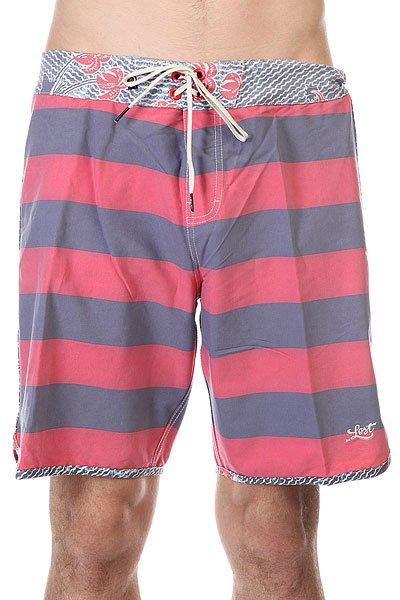 Шорты пляжные Lost Coconut Hunter RedДанная модель не имеет внутренней подкладки в виде сеточки<br><br>Цвет: синий,красный<br>Тип: Шорты пляжные<br>Возраст: Взрослый<br>Пол: Мужской