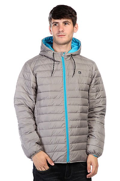 Куртка зимняя Quiksilver Scaly Active Steeple Gray