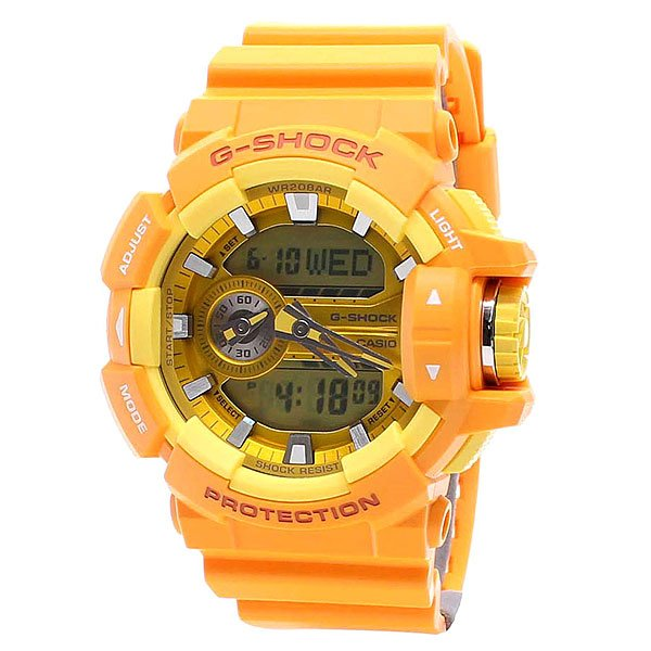 Часы Casio G-Shock Ga-400a-9a Orange casio g shock g classic ga 100a 9a