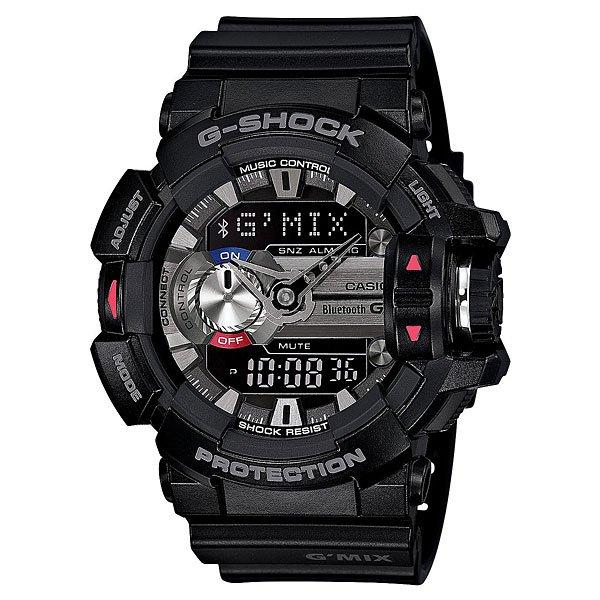 Часы Casio G-Shock Gba-400-1a BlackХарактеристики: Светодиодная подсветка дисплея и стрелок. Ударопрочная конструкция защищает от ударов и вибрации. Функция мирового времени.Отображение времени: аналоговый + цифровой, формат 12/24 часа, секундная стрелка отсутствует.Таймер с минутной точностью и автоповтором. 5 ежедневных будильников, сигнал каждый час.Второй часовой пояс.Прочное, устойчивое к царапинам минеральное стекло защищает часы от повреждений.Корпус из полимерного пластика и нержавеющей стали. Ремешок из полимерного материала. Водонепроницаемость (20 Бар/200 м).<br><br>Цвет: черный<br>Тип: Кварцевые часы<br>Возраст: Взрослый<br>Пол: Мужской