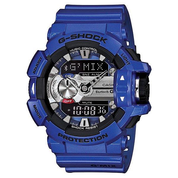 Часы Casio G-Shock Gba-400-2a BlueХарактеристики: Светодиодная подсветка дисплея и стрелок. Ударопрочная конструкция защищает от ударов и вибрации. Функция мирового времени.Отображение времени: аналоговый + цифровой, формат 12/24 часа, секундная стрелка отсутствует.Таймер с минутной точностью и автоповтором. 5 ежедневных будильников, сигнал каждый час.Второй часовой пояс.Прочное, устойчивое к царапинам минеральное стекло защищает часы от повреждений.Корпус из полимерного пластика и нержавеющей стали. Ремешок из полимерного материала. Водонепроницаемость (20 Бар/200 м).<br><br>Цвет: синий,серый<br>Тип: Кварцевые часы<br>Возраст: Взрослый<br>Пол: Мужской