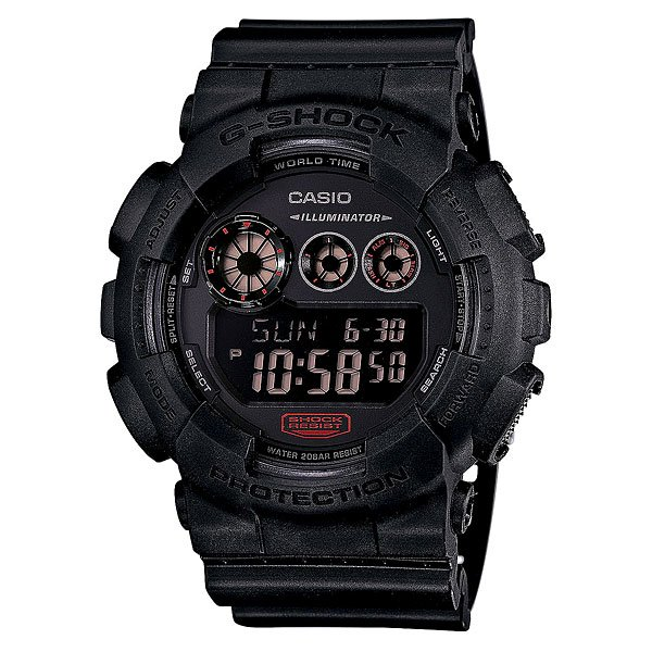 Часы Casio G-Shock Gd-120mb-1e Black часы casio g shock gw m5610bb 1e black