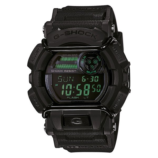 Часы Casio G-Shock Gd-400mb-1e Black часы casio gd 400 1e