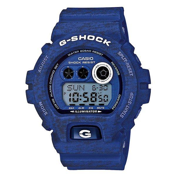 Часы Casio G-Shock Gd-x6900ht-2e BlueХарактеристики: Светодиодная подсветка. Ударопрочная конструкция защищает от ударов и вибрации. Функция мирового времени.Покрытые спецсоставом метки на циферблате и стрелках светятся в темноте.Таймер с минутной точностью и автоповтором. 5 ежедневных будильников, сигнал каждый час.Функция повтора будильника. Включение/выключение звука кнопок.  Автоматический календарь.12/24-часовое отображение времени. Прочное, устойчивое к царапинам минеральное стекло защищает часы от повреждений.Корпус из полимерного пластика и нержавеющей стали. Ремешок из полимерного материала. Водонепроницаемость (20 Бар/200 м). Аккумулятор обеспечивает часы достаточным питанием приблизительно на три года. Точность: +/- 15 сек в месяц. Тип батареи: CR1220.<br><br>Цвет: синий<br>Тип: Электронные часы<br>Возраст: Взрослый<br>Пол: Мужской